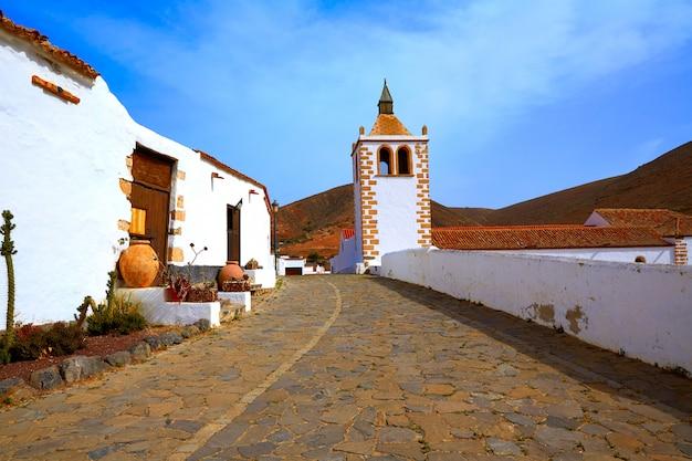 Betancuria santa maria kościół fuerteventura