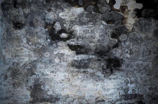 Betonowa cementowa pęknięta ściana tekstur na tle