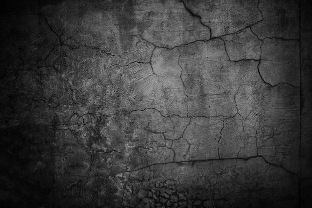 Betonowa ściana czarne, ponure tło