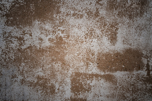 Betonowa ściana testur szara z białym tynkiem