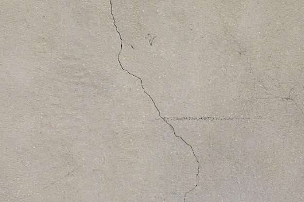 Betonowa ściana z pęknięciami