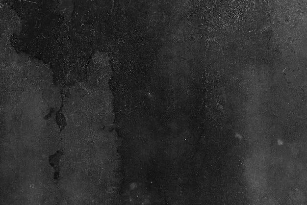 Betonowe tekstury tła w kolorach czarnym i szarym z dużym ciemnym miejscu