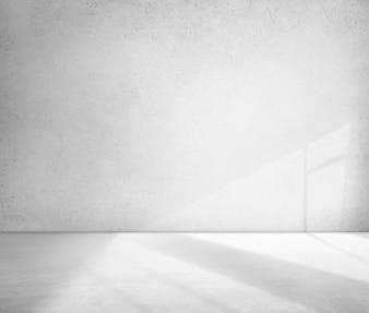 Betonowy pokój róg cienia cementu tapety pojęcie