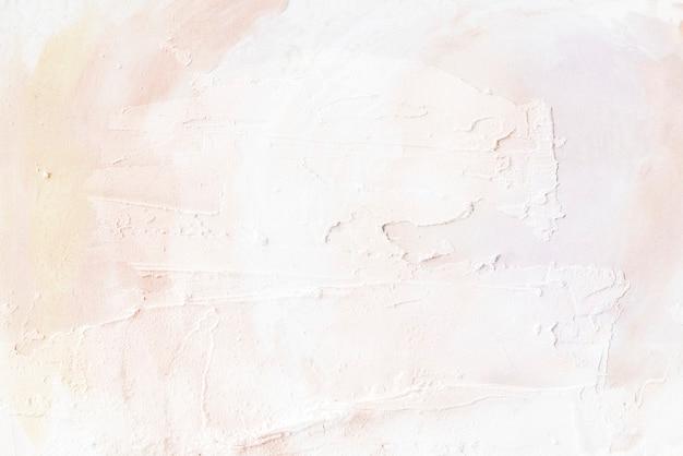 Beżowa farba pędzlem teksturowane tło