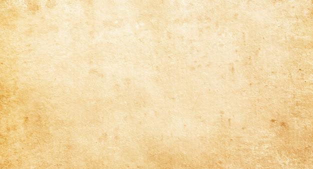 Beżowa tekstura starego papieru, puste, plamy, szorstki, vintage, miejsce na tekst