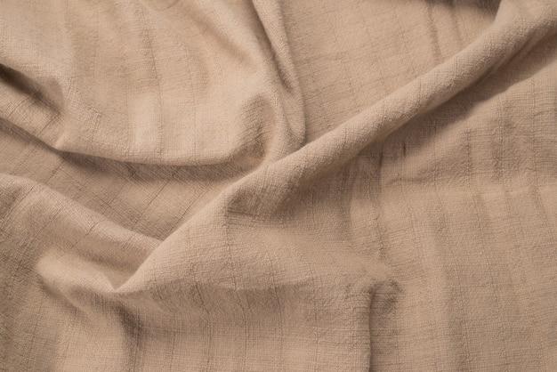 Beżowa tkanina bawełniana