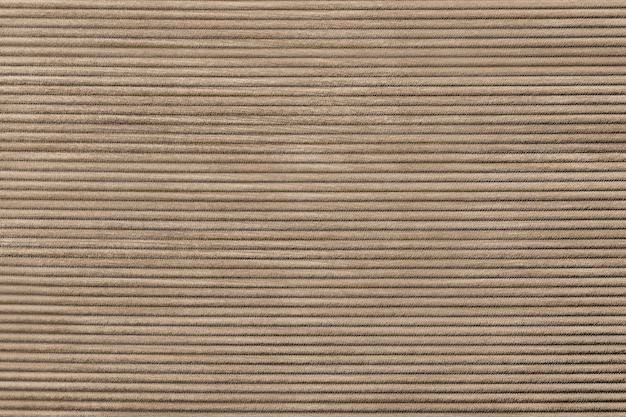 Beżowa tkanina sztruksowa teksturowana tło