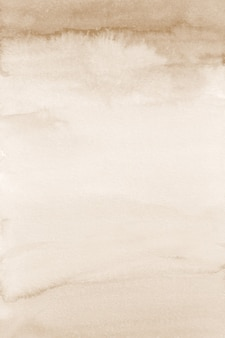 Beżowe tło akwareli, cyfrowe papiery w sepii