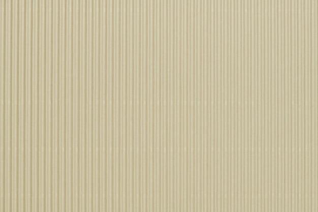 Beżowe tło tapety z tektury falistej
