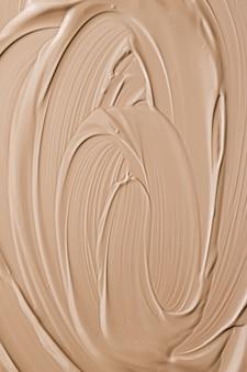 Beżowy kosmetyczny tekstura tło makijaż i pielęgnacja skóry kosmetyki produkt kremowy szminka podkład makro jako luksusowa marka urody wakacje flatlay design