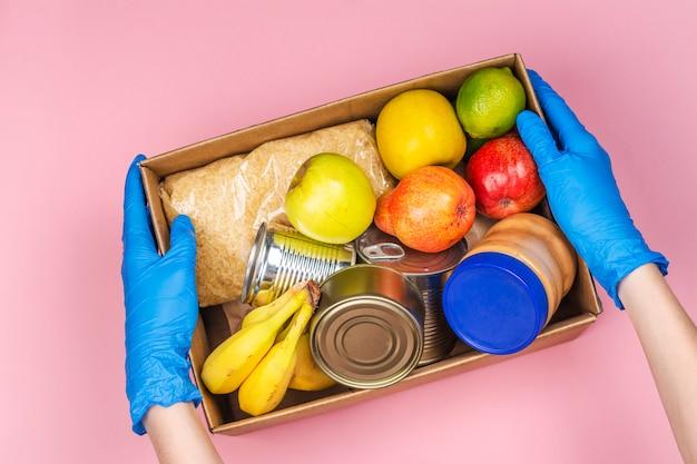 Bezpieczna dostawa żywności do domu