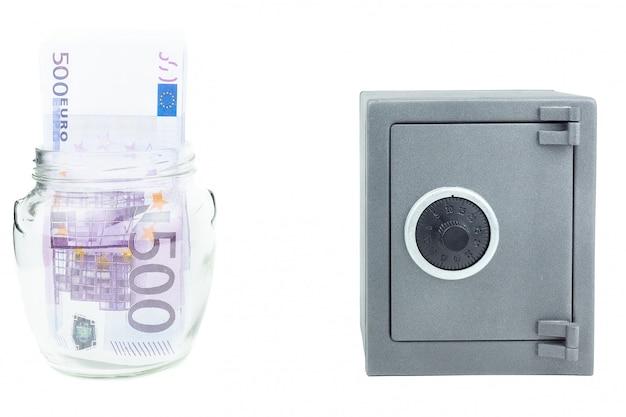 Bezpieczne bankowe pieniądze