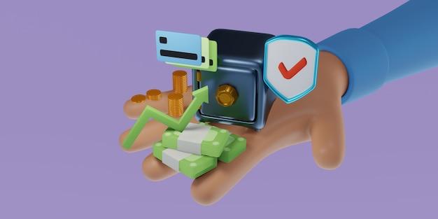 Bezpieczne przelewy bankowe za pośrednictwem urządzenia mobilnego, płatności online