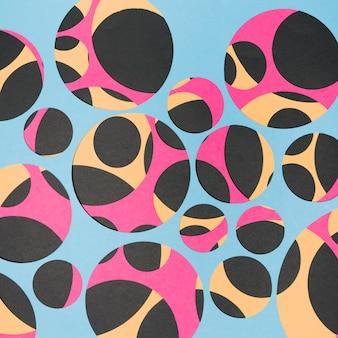 Bezszwowa papierowa geometryczna deseniowa tapeta