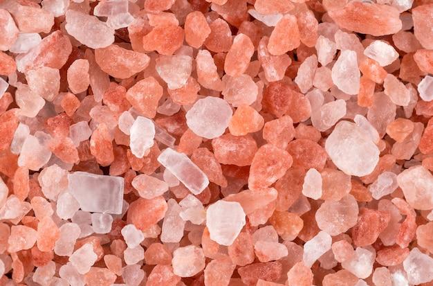 Bezszwowa różowa himalajska kryształ soli tekstura