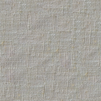 Bezszwowa taflowa tekstura brudnej białej powierzchni tkaniny lnianej.