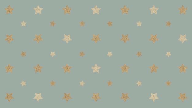 Bezszwowe błyszczące złote gwiazdki