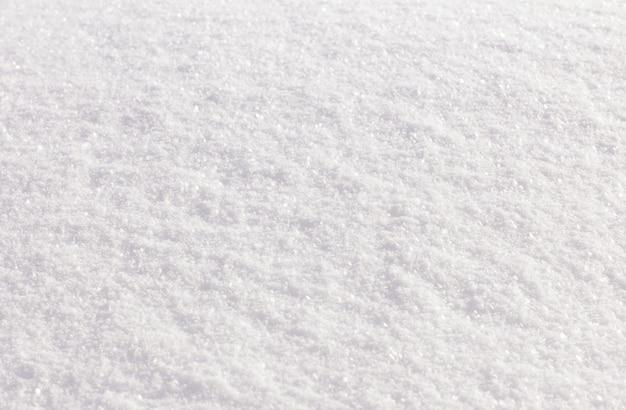 Bezszwowe tło świeży biały śnieg