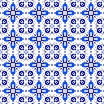 Bezszwowy abstrakcyjny szablon tradycyjnej mozaiki na tle