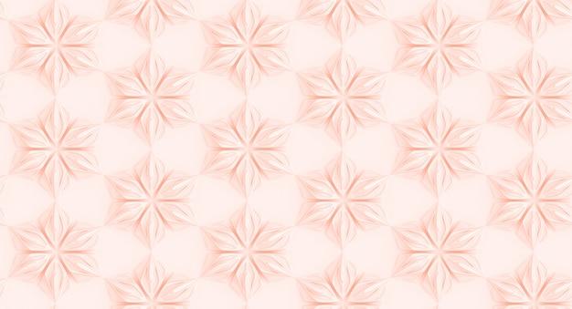 Bezszwowy różowy wzór