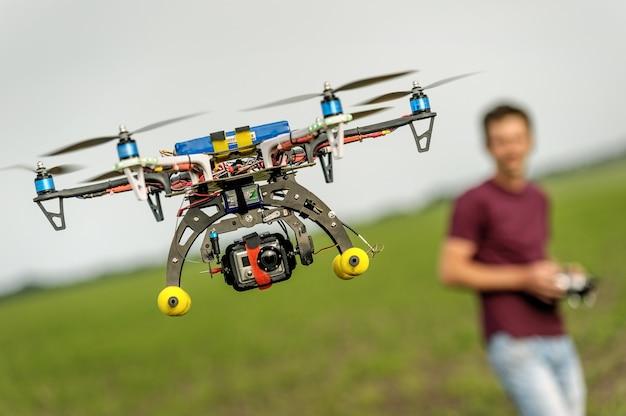 Bezzałogowy lot helikopterem