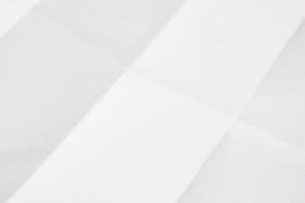 Biały papier składany