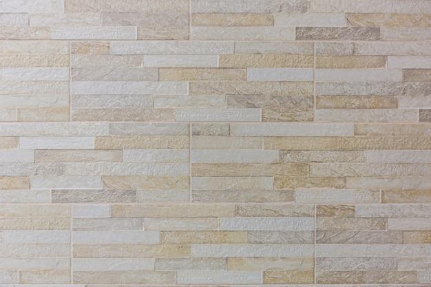Biała cegła kamienna ściana tekstur