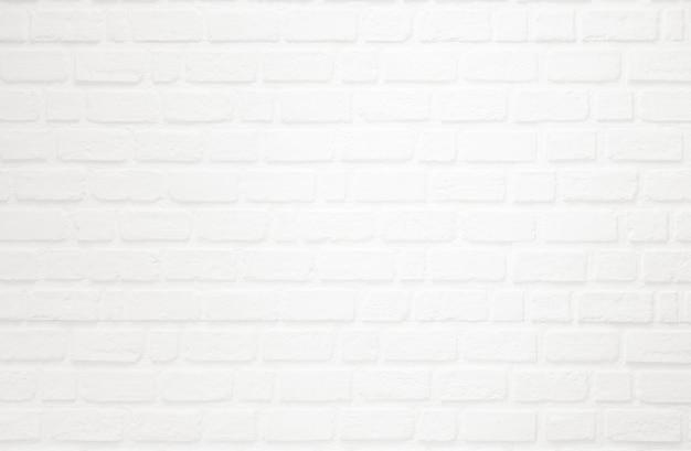 Biała cegła na ścianie tekstury dla tła