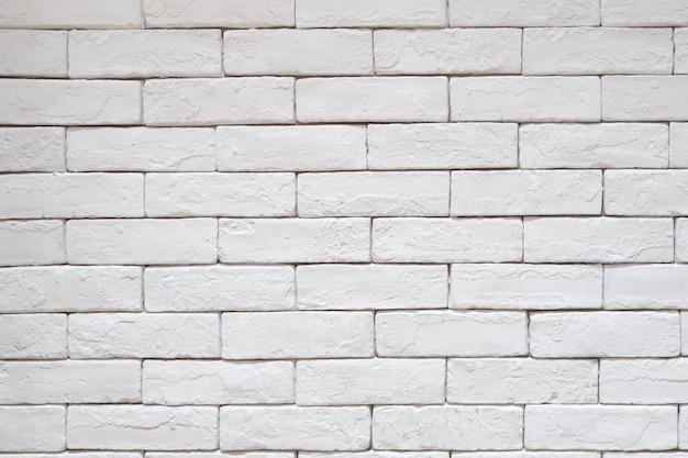 Biała cegła wzoru tekstury ściana. surowego rocznika czysty tło styl.