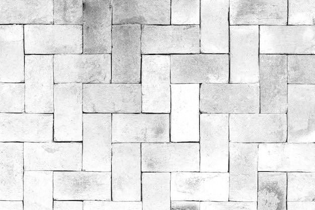 Biała cegła wzorzyste tło