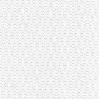 Biała kartka z sześciokątnym wzorem
