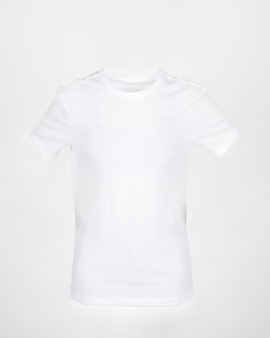 Biała koszulka dla makiety