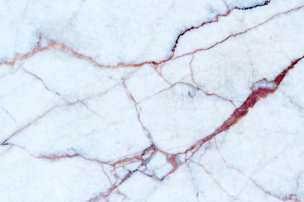 Biała marmurowa tekstura z naturalnym wzorem dla tła lub projekta sztuki pracy.