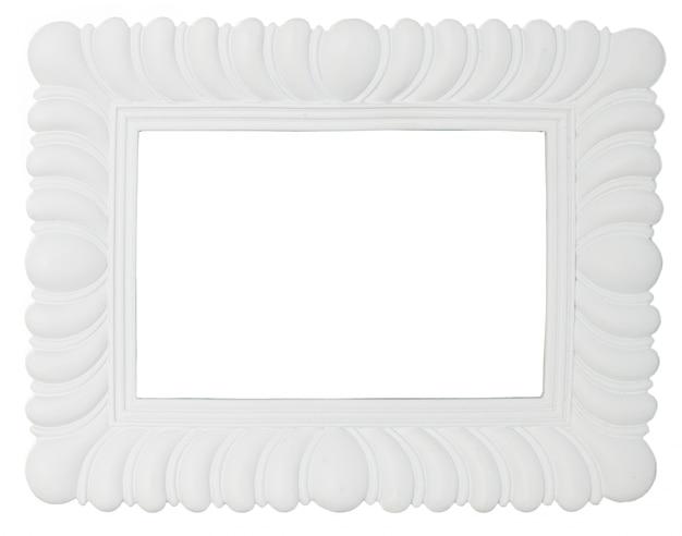 Biała ramka