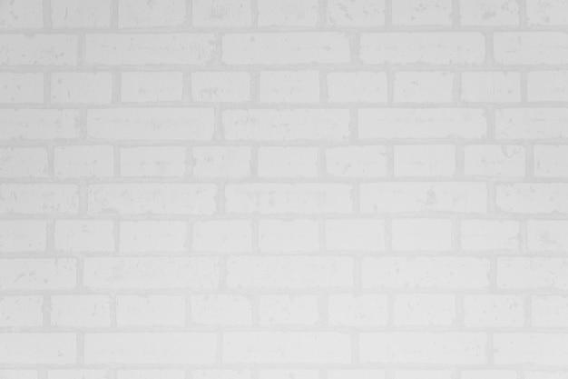 Biała ściana z cegieł powierzchnia i tekstura