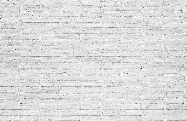 Biała ściana z cegły tekstury na tle wzoru