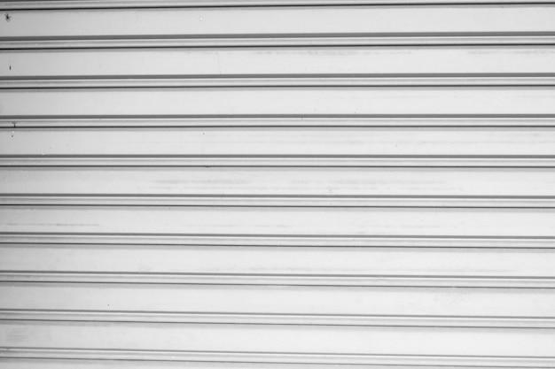 Biała ściana ze stali