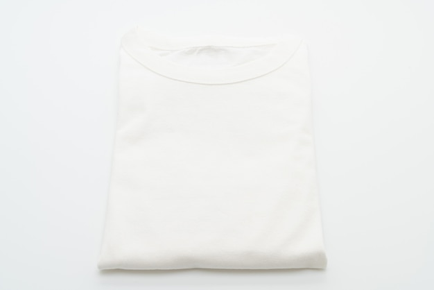 Biała składana koszulka