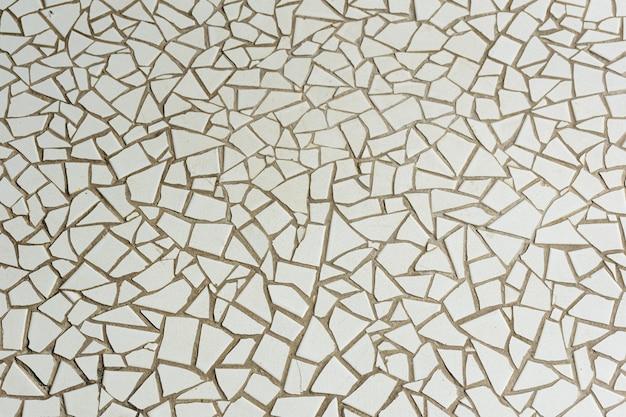 Biała tekstura odłamka płytki