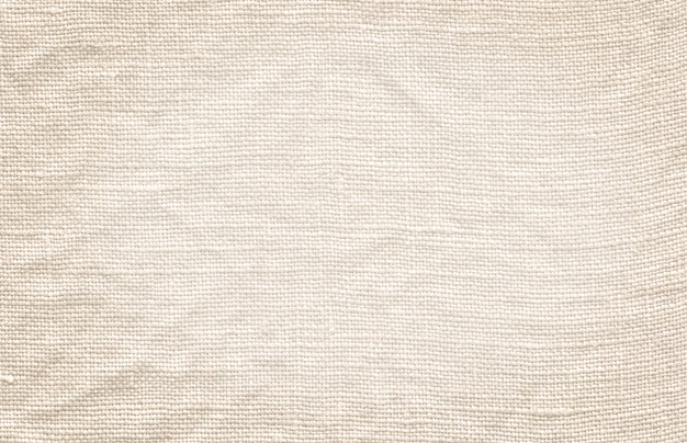 Biała tekstura płótna. naturalne białe płótno tło
