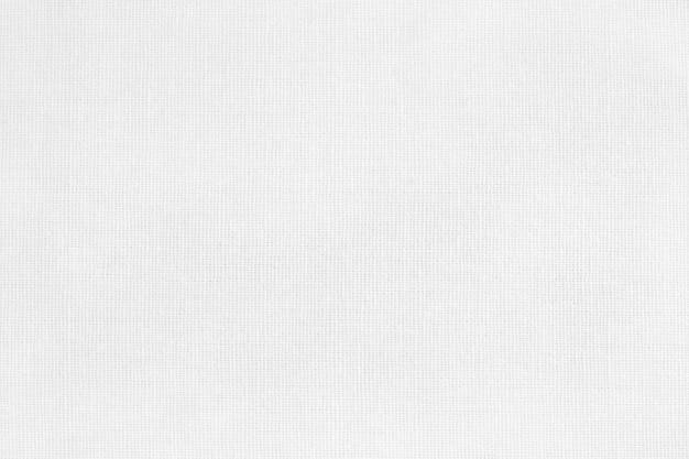 Biała tkanina bawełniana tekstura tło