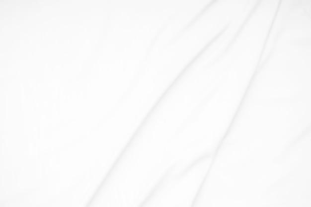 Biała tkanina miękka tekstura fal