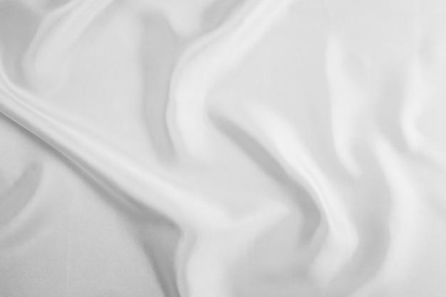 Biała tkanina tekstura tło abstrakcyjna