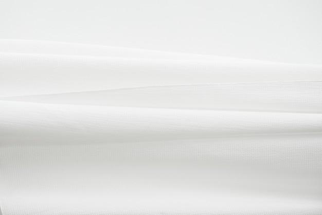 Biała tkanina tekstura tło element projektu