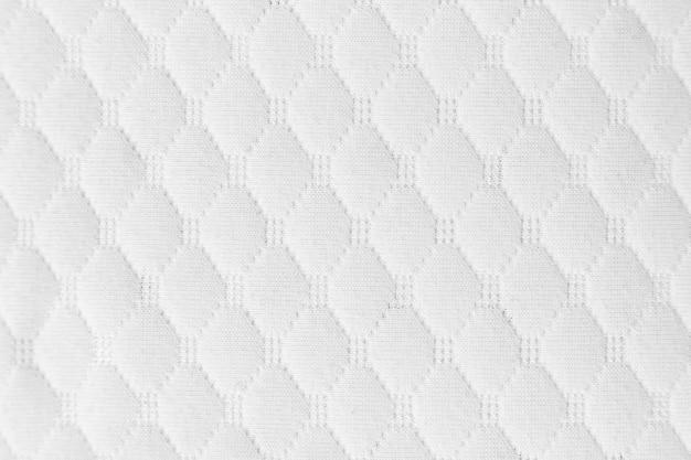 Biała tkanina tekstura tło tkaniny dla projektu