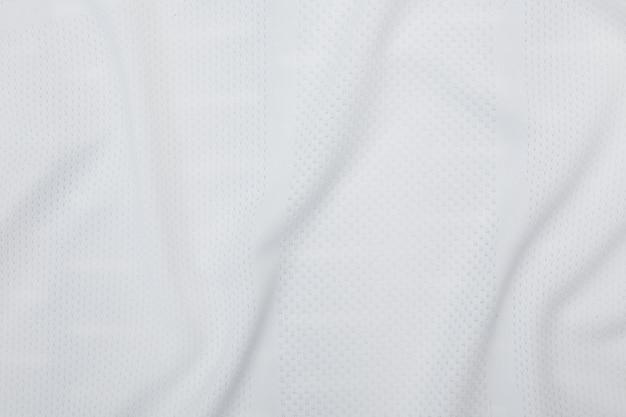 Biała tkanina tekstura, tło wzór tkaniny.
