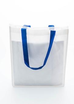 Biała torba z tkaniny