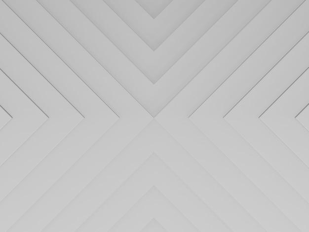Białe czyste trójkąty tło do prezentacji biznesowej renderowania 3d