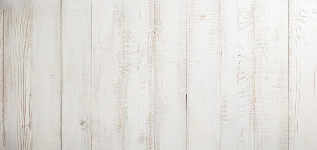 Białe deski drewniane tekstury tła