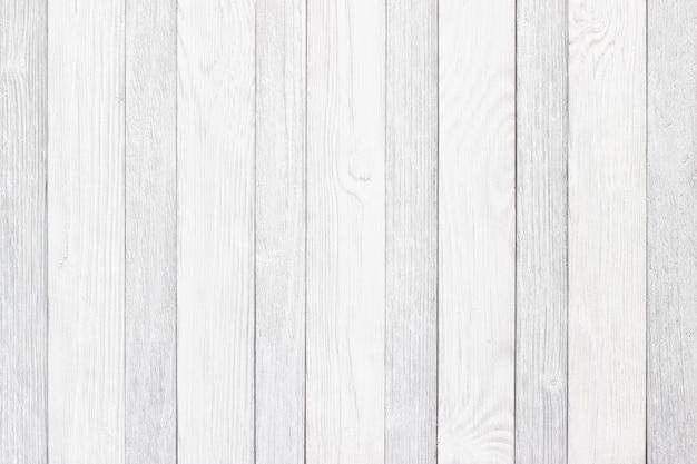 Białe deski jako tło, lekka tekstura drewnianego stołu lub podłogi